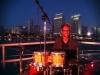 Mike Gross on a yacht