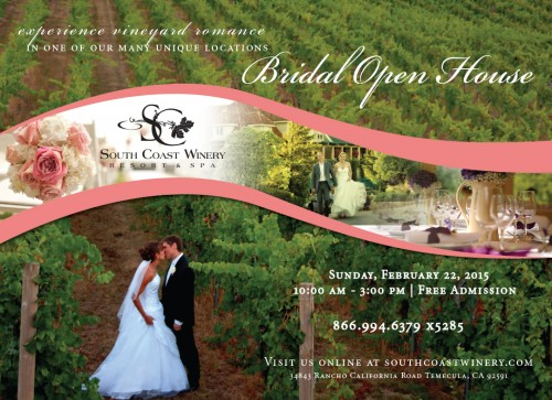 South Coast Winery Bridal Open House