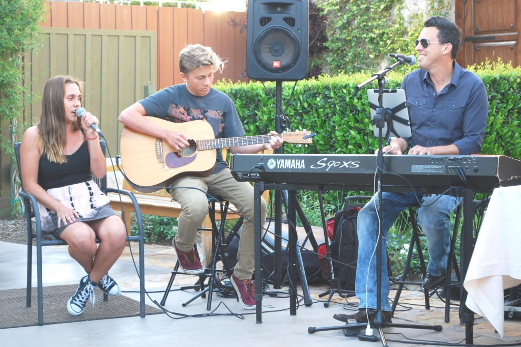 Brian Stodart at Ponte Winery for Father's Day 2015